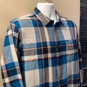 SCOTCH & SODA Flannel Shirt. Size Large